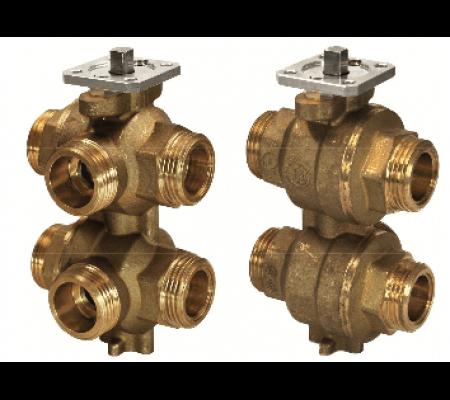 vwg41.20-1.0-1.6 6-ходовой регулирующий шаровой клапан siemens BPZ:S55230-V151