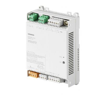 dxr2.m10-101a комнатный контроллер bacnet ms/tp, ac 230 в (1 di, 2 ui,7  do) siemens BPZ:S55376-C115
